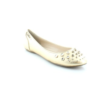 Nine West On The Fritz Women's Flats & Oxfords Gold