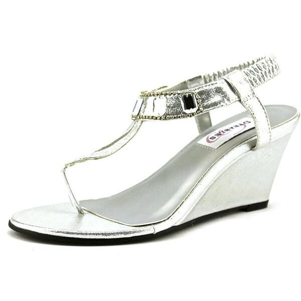Dyeables Mila Women Open Toe Synthetic Silver Sandals