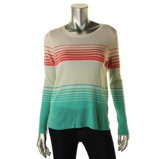 Joie Womens Striped Cashmere Pullover Sweater - XS