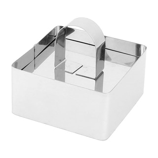 Bakery Kitchen Metal Square Shaped Bread Cookie Cake Cutter Mould Mold
