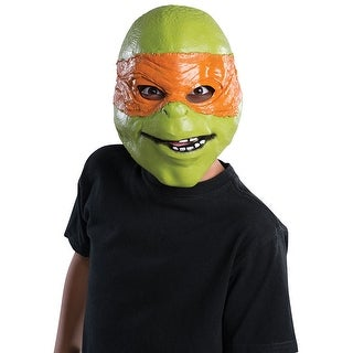Kids Ninja Turtles Michelangelo 3/4 Halloween Mask