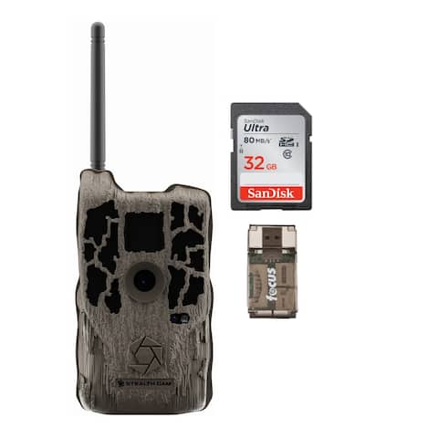 Stealth Cam XV4WF 30MP Trail Camera and 32GB SD Card Kit