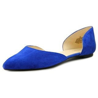 Nine West Stardust Women Pointed Toe Suede Flats