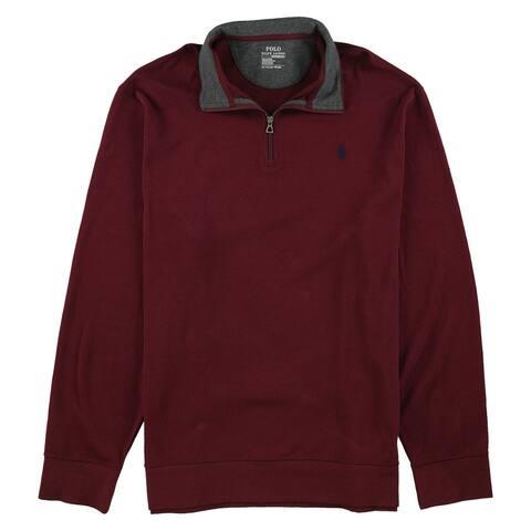 Ralph Lauren Mens Half-Zip Sweatshirt