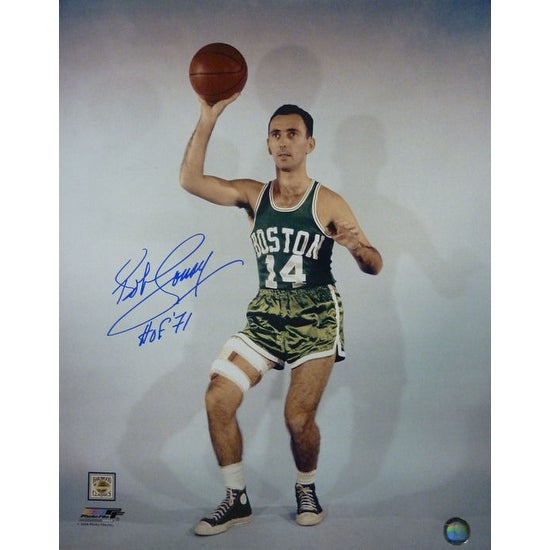 7bbeffa8f Shop Bob Cousy Autographed Boston Celtics 16x20 Photo w