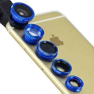 Clip & Snap Smartphone Camera Lenses (5-Pack)