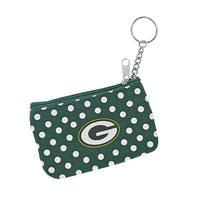 Green Bay Packers NFL Coin Purse ID Keychain