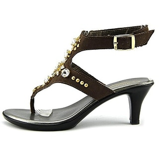 Callisto Women's Cherry Embellished Ankle-Strap Sandals