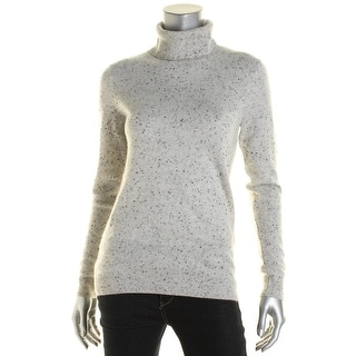 Private Label Womens Cashmere Turtleneck Pullover Sweater - S