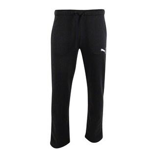 Puma Men's T7 dryCELL Fleece Pants (M, Dark Gray Heather)