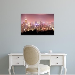 Easy Art Prints Brent Bergherm's 'Hong Kong Sky' Premium Canvas Art