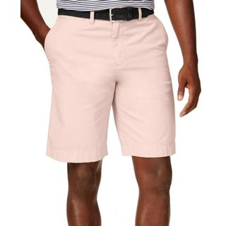 Tommy Hilfiger NEW Cotton Candy Pink Mens Size 40 Khakis Chinos Shorts