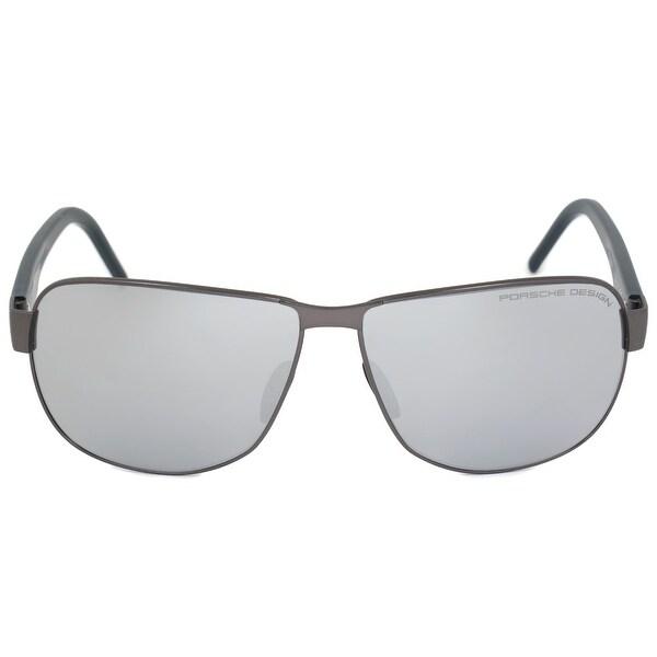 3acaadf298 Shop Porsche Design Design P8633 C 61 Aviator Sunglasses for Men ...