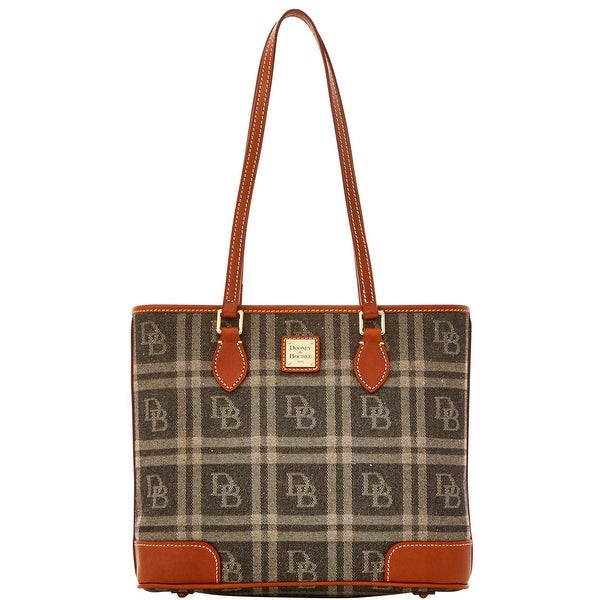 Dooney & Bourke DB Plaid Jacquard Richmond (Introduced by Dooney & Bourke at $228 in Jul 2016) - Black