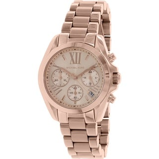 Michael Kors Women's Bradshaw MK5799 Rose-Gold Stainless-Steel Fashion Watch