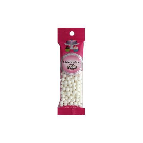 SweetWorks Celebration Pearls 1.75oz Shim White
