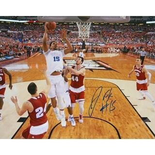 Jahlil Okafor Signed Duke Championship Game Lay Up 16x20 Photo