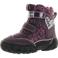 Geox Girls Gulp Waterproof Winter Fashion Snow Boots - 25 m eu / 8.5 m us toddler