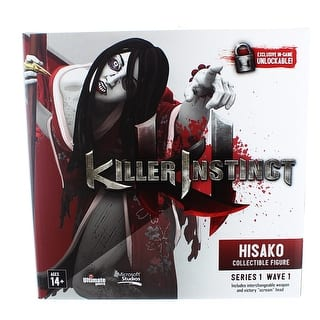 "Killer Instinct Series 1 6"" Collectible Figure: Hisako