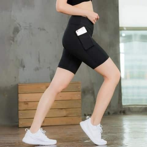 Women's Running Short Pants with Pocket