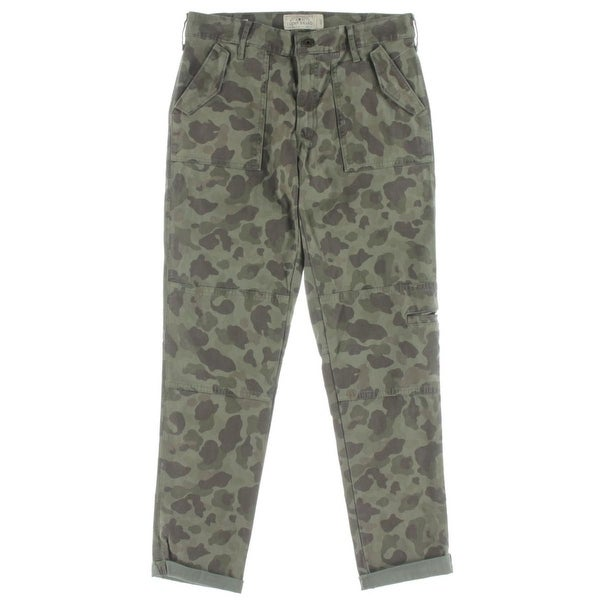 76403d6b10 Shop Lucky Brand Womens Cargo Pants Camouflage Skinny Ankle - Free Shipping  On Orders Over  45 - Overstock - 18421339