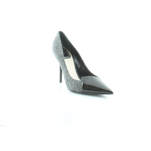 Christian Dior Spade Women's Heels Grey / Black - 8.5