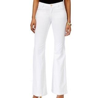 Michael Kors NEW White Women's Size 4 Flare Leg Selma Denim Jeans