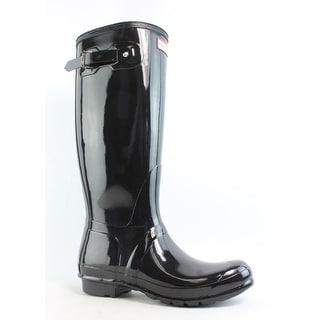775d1ee3ebce Shop Hunter Womens Original Tall Gloss Rainboots Size 5 - Free Shipping  Today - Overstock.com - 26412152