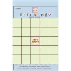 Baby Gift - Bingo Game Sheet 50/Pkg