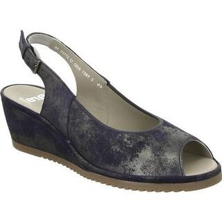 ara Women's Colleen 37120 Blue Caruso Leather