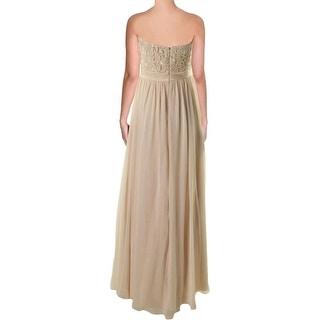 Aidan Mattox Womens Chiffon Prom Semi-Formal Dress