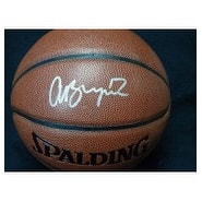 Signed Bynum Andrew Spalding IndoorOutdoor Ball autographed