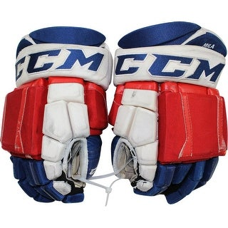 Keith Yandle New York Rangers 20152016 Season Game Used CCM Gloves