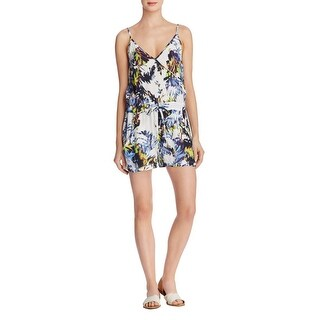 French Connection Womens Romper Printed Sleeveless