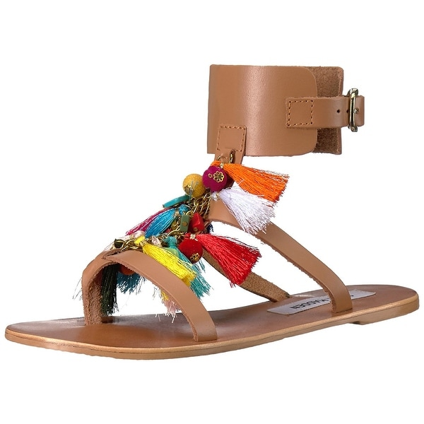 Steve Madden Womens Colorful Open Toe Casual Slingback Sandals