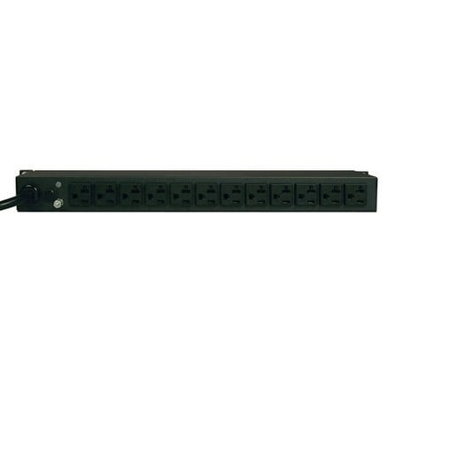 Tripp Lite Pdumh20 1.92Kw Single-Phase Metered Pdu, 120V (12 5-15/20R), L5-20P / 5-20P, 110-127V Input, 15Ft Cord, 1U Ra