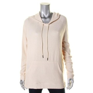 Michelle by Comune Womens Hoodie French Terry Drawstring