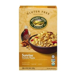 Nature's Path - Gluten Free Crunchy Maple Cereal ( 12 - 10.6 oz boxes)