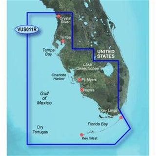 Garmin VUS011R - Southwest Florida - SD Card