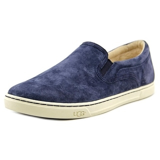 Ugg Australia Fierce Women Round Toe Leather Blue Loafer