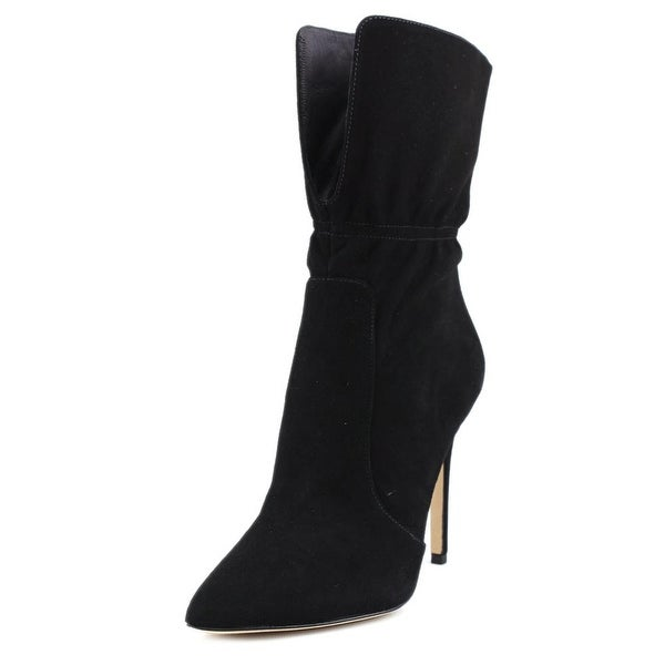 65ea9025eb1 Shop Via Spiga Felienne Women Pointed Toe Suede Mid Calf Boot - Free ...