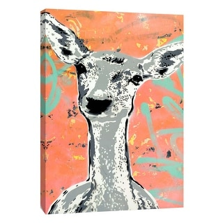 "PTM Images 9-105945  PTM Canvas Collection 10"" x 8"" - ""Fawn"" Giclee Deer Art Print on Canvas"