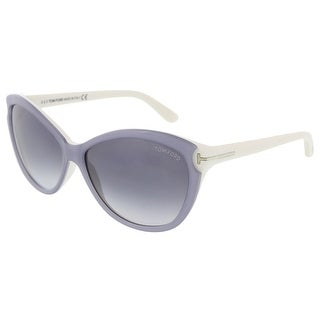 Tom Ford FT0325/S 20W Telma Light Grey Cateye Sunglasses