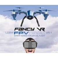 UDI U28W Wifi FPV Drone 2.4G 4CH Headless RC Quadcopter with 720P HD Camera RTF