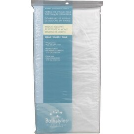 Zenith Clear Shower Curtain