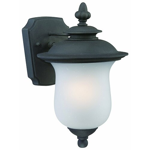 Thomas Lighting 190090030 Carlisle 1 Light Outdoor Wall Lantern In Black Finish