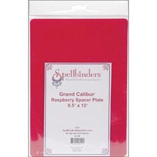 "Raspberry - Spellbinders Grand Calibur Spacer Plate 8.5""X12"""