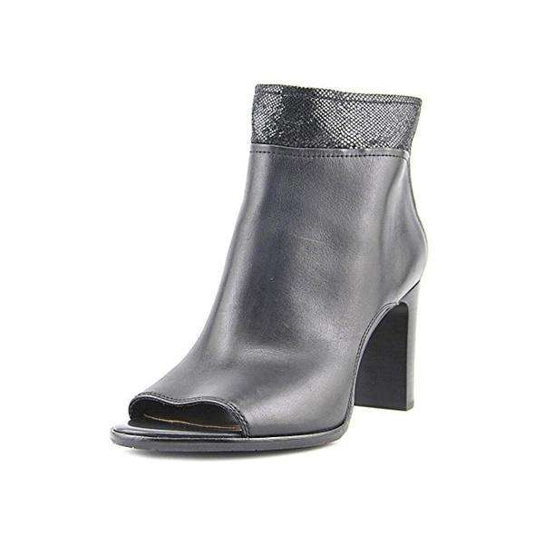 Donald J. Pliner Womens Raie Casual Boots Open Toe Cut-Out - 9 medium (b,m)