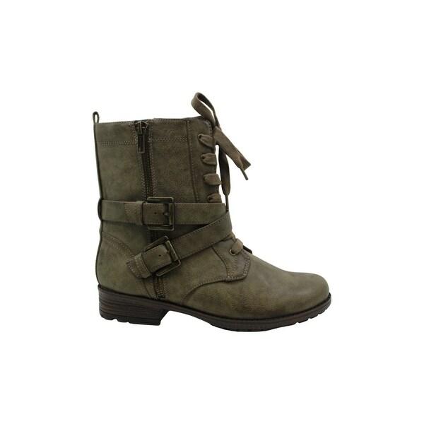 Closed Toe Mid-Calf Fashion Boots - 6.5