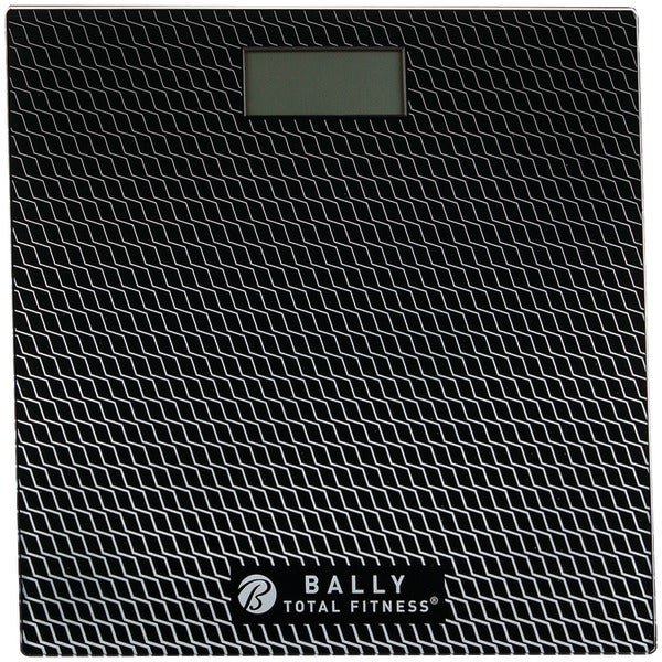 Bally Bls-7302 Blk Digital Bathroom Scale (Black)